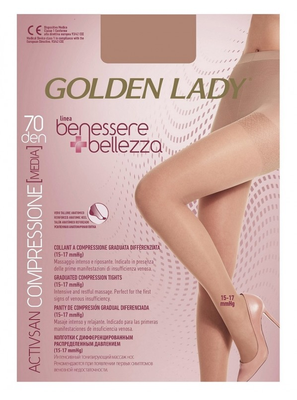 Колготы GOLDEN LADY BENESSERE BELLEZZA 70